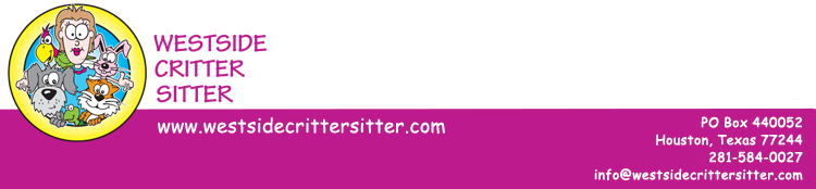 Westside Critter Sitter Pet Care